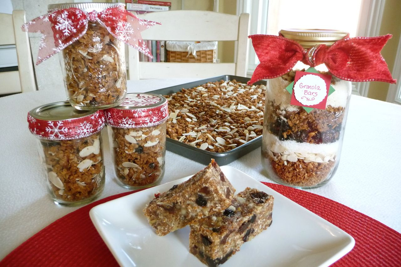 Best ideas about Holiday Food Gift Ideas . Save or Pin Made with Love Granola Gifts Special Guest Post The Now.