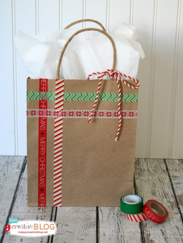 Best ideas about Holiday Gift Bag Ideas . Save or Pin DIY Holiday Gift Bags Now.