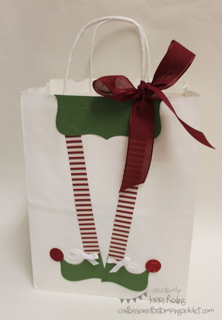Best ideas about Holiday Gift Bag Ideas . Save or Pin Ideas For Decorating Christmas Gift Bags Now.