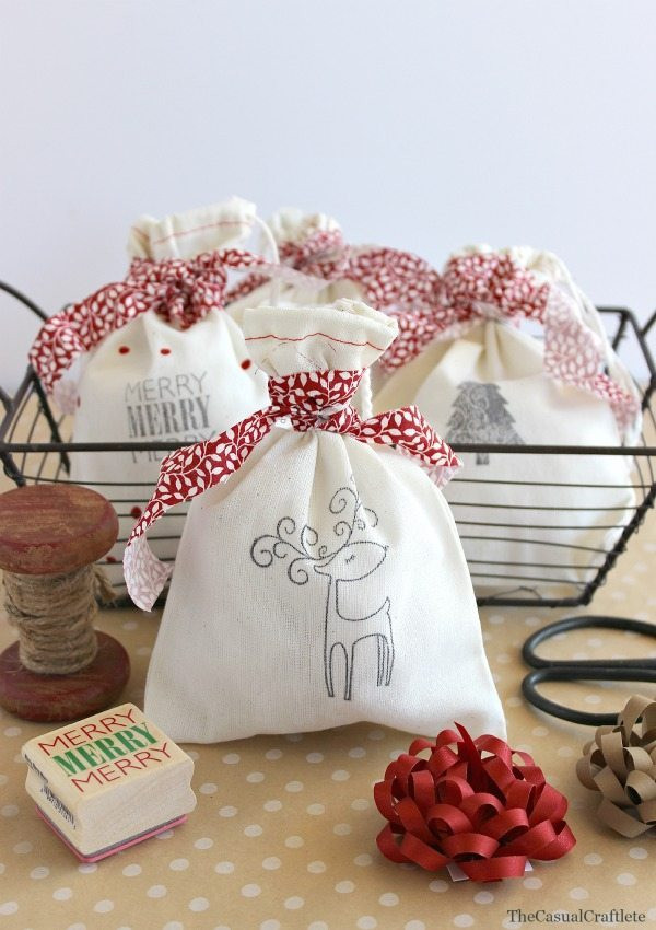 Best ideas about Holiday Gift Bag Ideas . Save or Pin Christmas Craft Ideas Link Party Features The Golden Now.
