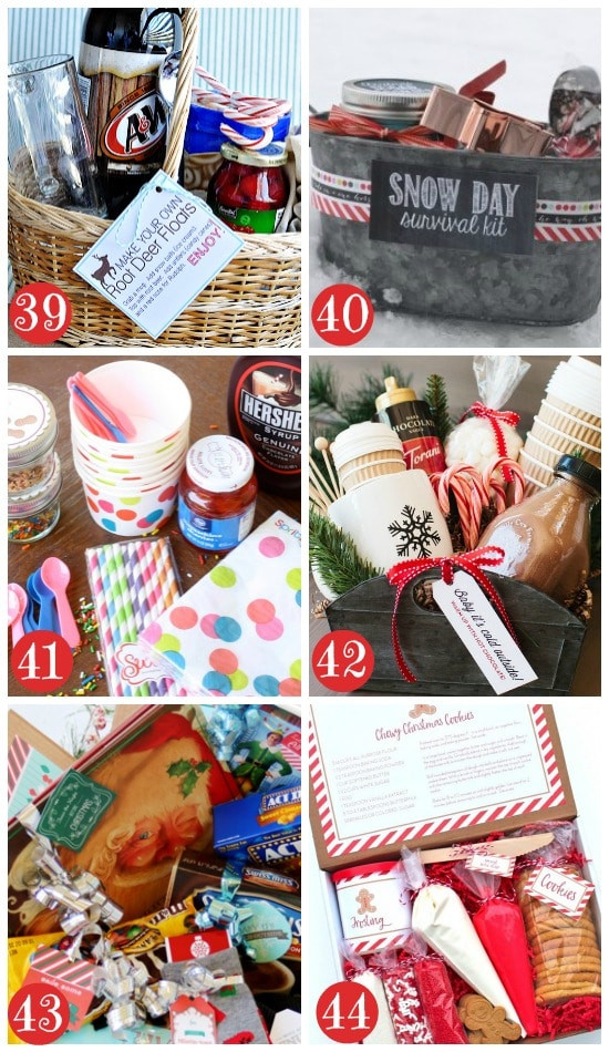 Best ideas about Holiday Gift Basket Ideas . Save or Pin 50 Themed Christmas Basket Ideas The Dating Divas Now.