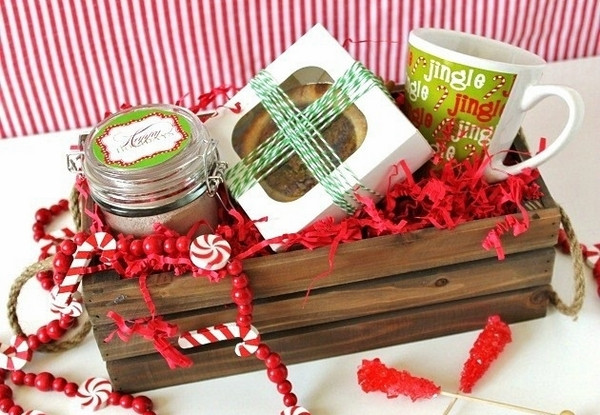Best ideas about Holiday Gift Basket Ideas . Save or Pin Christmas basket ideas – the perfect t for family and Now.