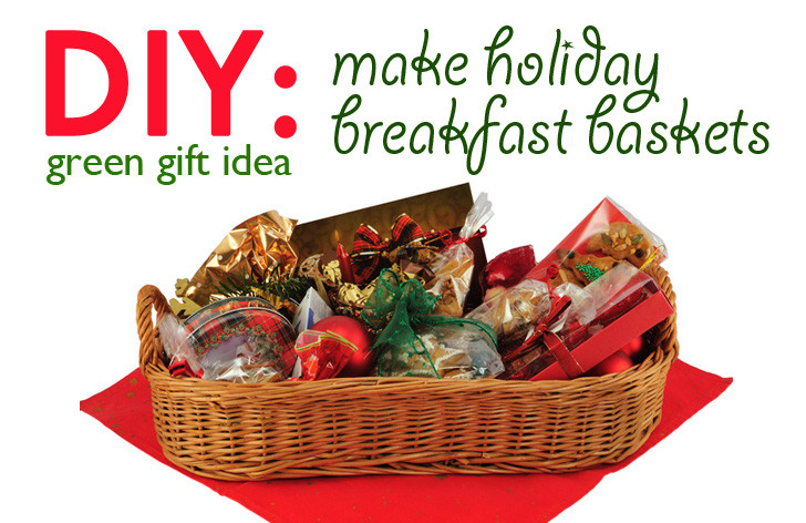 Best ideas about Holiday Gift Baskets Ideas . Save or Pin DIY Gift Idea Holiday Breakfast Basket Now.