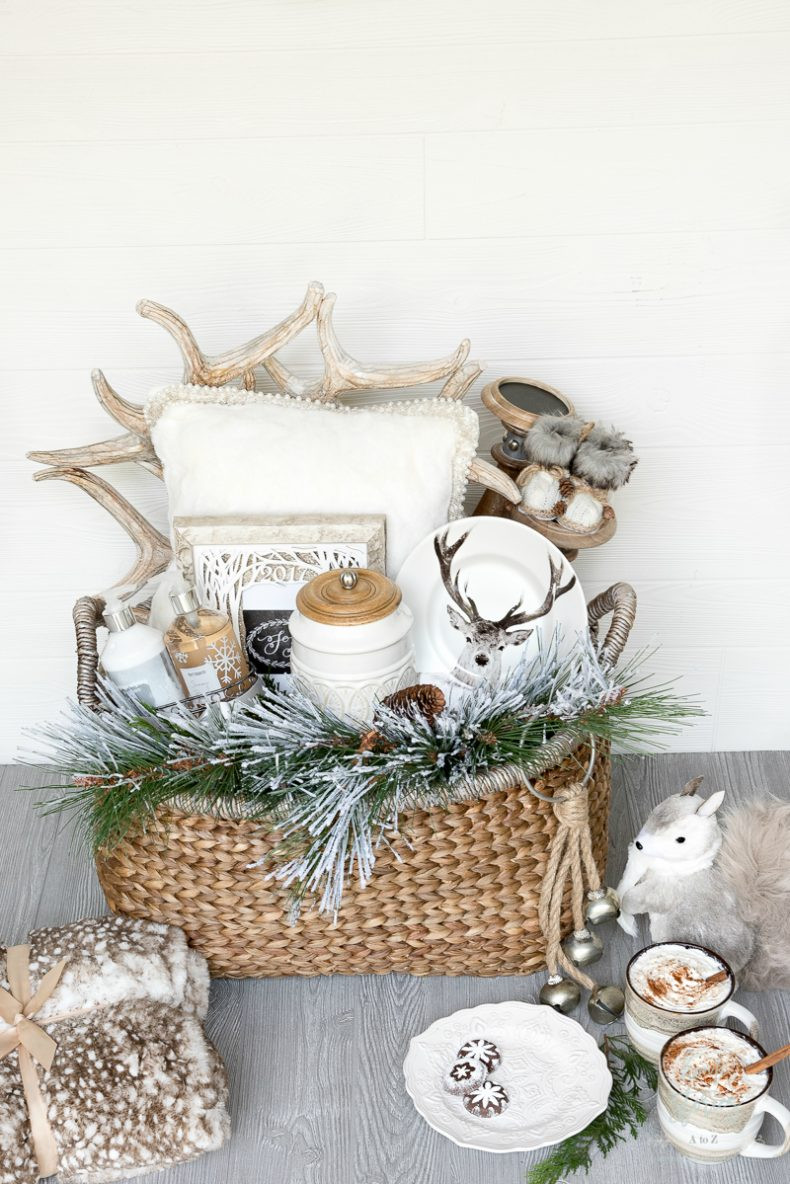 Best ideas about Holiday Gift Baskets Ideas . Save or Pin Creative and Luxe Holiday Gift Basket Ideas with Pier 1 Now.