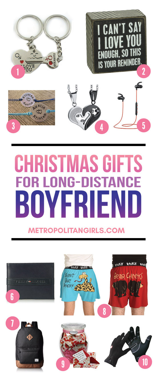 Best ideas about Holiday Gift Ideas For Boyfriend . Save or Pin Christmas Gift Ideas for Long Distance Boyfriend 2017 Now.