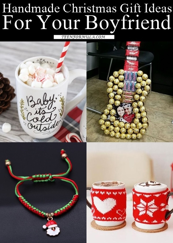 Best ideas about Holiday Gift Ideas For Boyfriend . Save or Pin 35 Handmade Christmas Gift Ideas For Your Boyfriend Now.