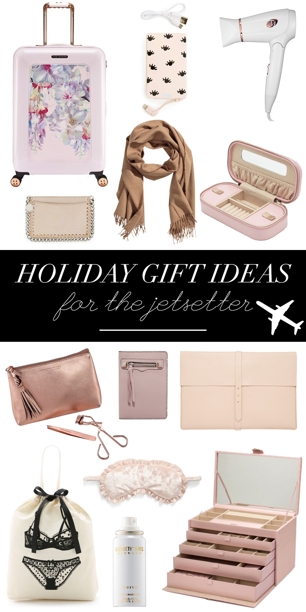 Best ideas about Holiday Gift Ideas For Her . Save or Pin Holiday Gift Ideas For The Jetsetter Money Can Buy Lipstick Now.