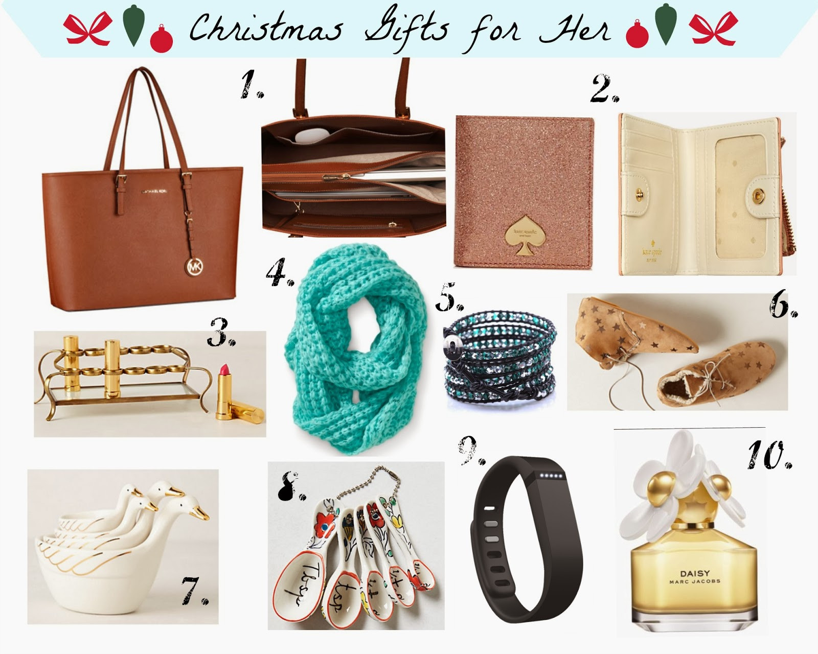 Best ideas about Holiday Gift Ideas For Her . Save or Pin Best Gifts Ideas for Her Fit & Fab Now.