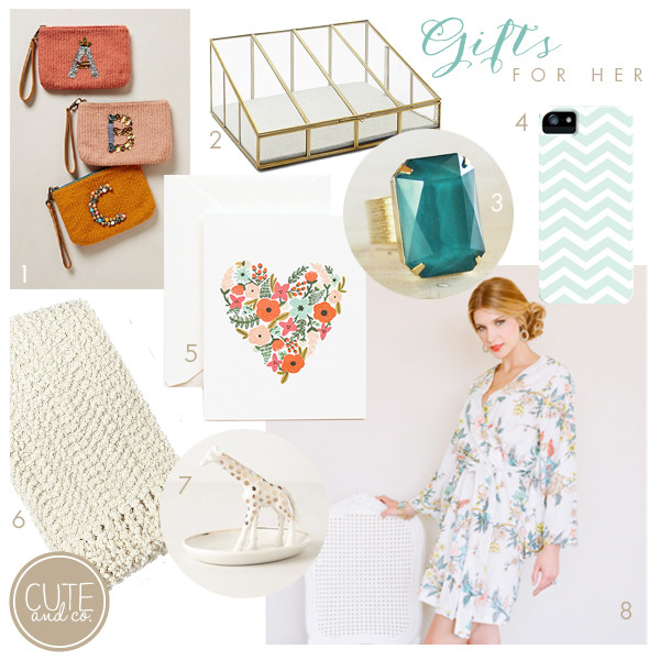 Best ideas about Holiday Gift Ideas For Her . Save or Pin Holiday Gift Ideas for Her – Cute & Co Now.