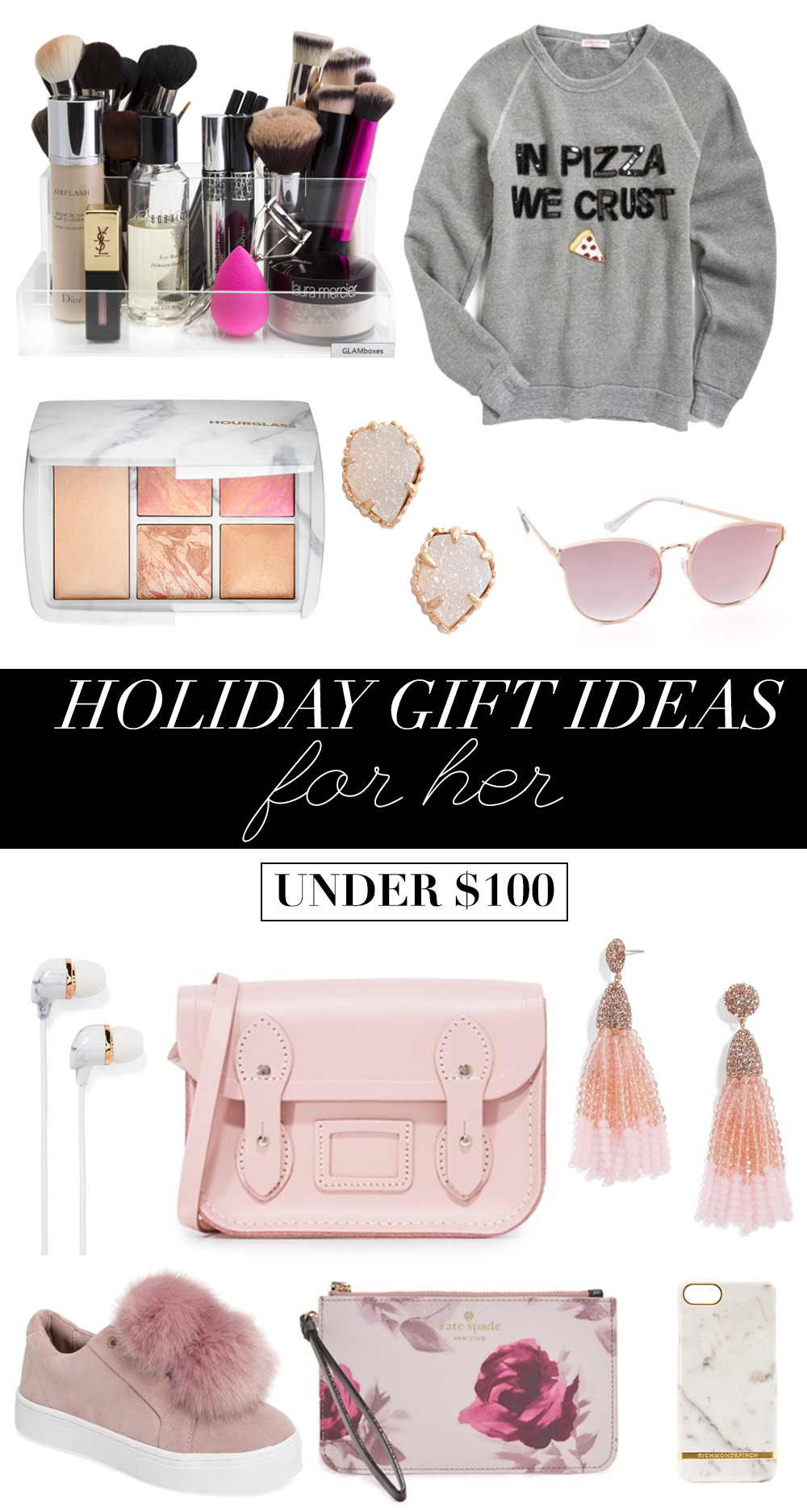 Best ideas about Holiday Gift Ideas For Her . Save or Pin Holiday Gift Ideas For Her Under $100 Money Can Buy Now.