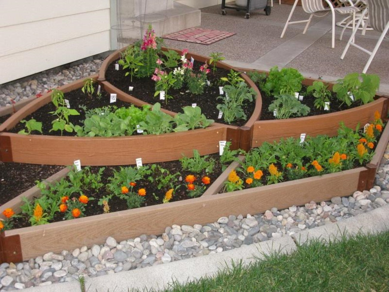 Best ideas about Home Vegetable Garden Ideas . Save or Pin Simple Ve able Garden Ideas for Your Living Amaza Design Now.