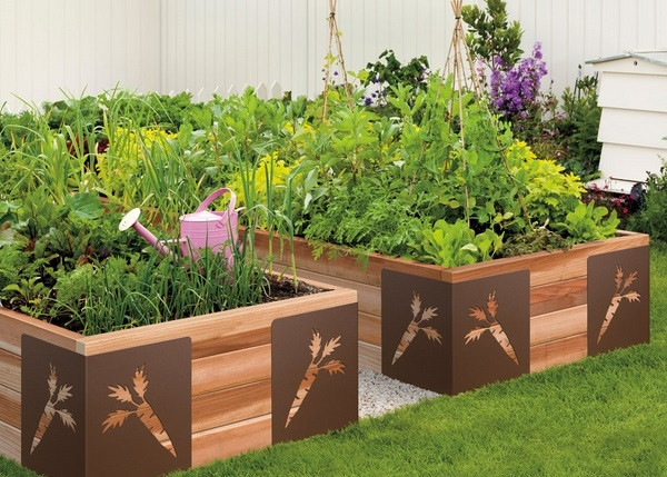 Best ideas about Home Vegetable Garden Ideas . Save or Pin Raised ve able garden clever and creative home Now.