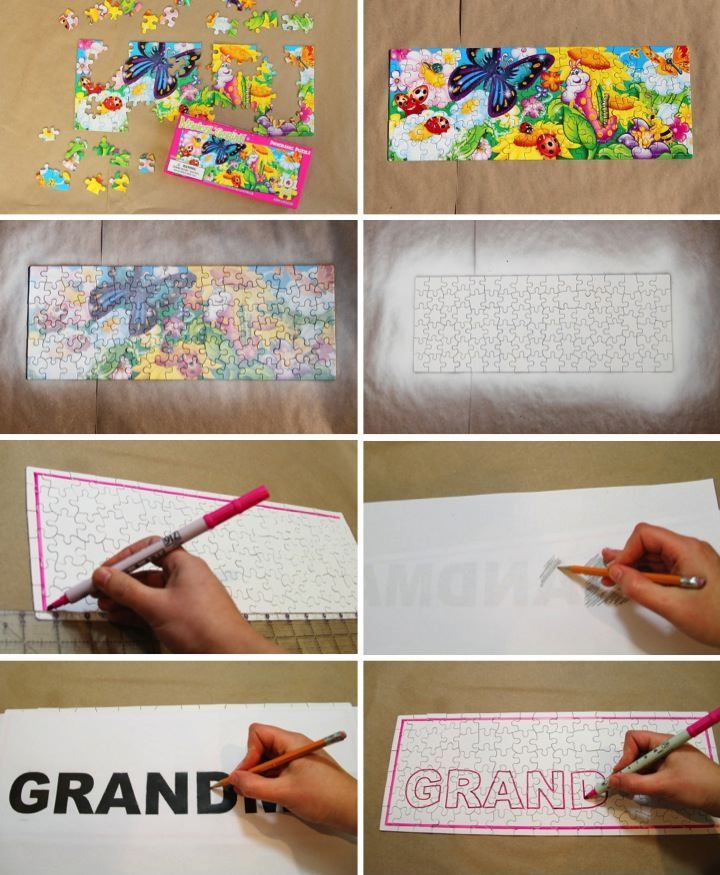 Best ideas about Homemade Birthday Gifts For Grandma . Save or Pin DIY Puzzle Birthday Gift for Grandma Blog Now.