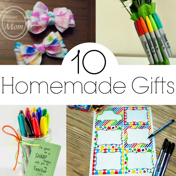 Best ideas about Homemade Birthday Gifts For Grandma . Save or Pin 8 DIY Gifts for Grandparents The Realistic Mama Now.