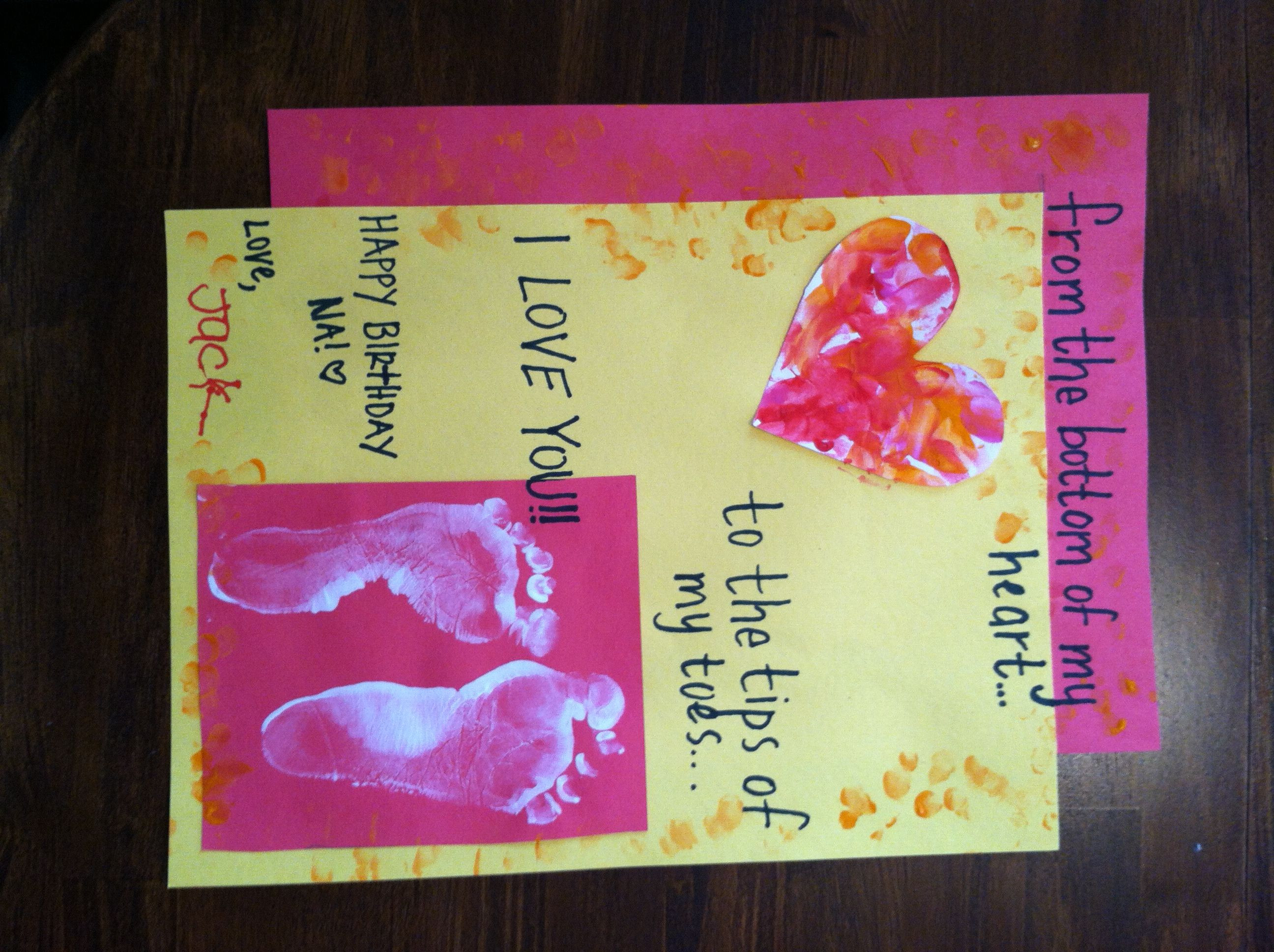 Best ideas about Homemade Birthday Gifts For Grandma . Save or Pin Birthday card for Grandma Now.