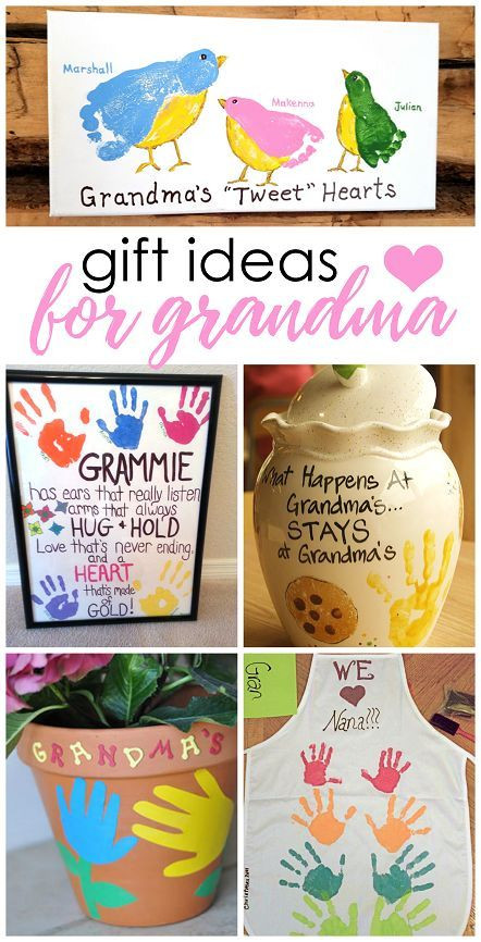 Best ideas about Homemade Birthday Gifts For Grandma . Save or Pin Great crafts kids can make for Mother s Day or Now.
