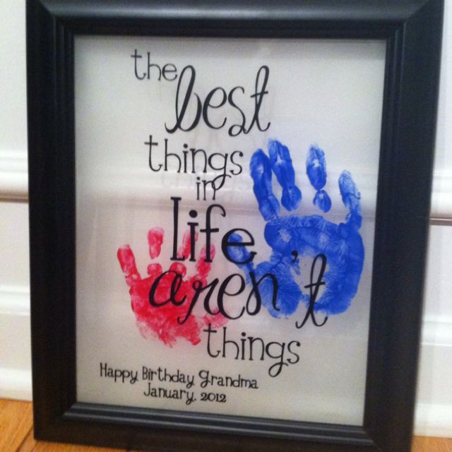 Best ideas about Homemade Birthday Gifts For Grandma . Save or Pin Best 25 Grandma birthday presents ideas on Pinterest Now.