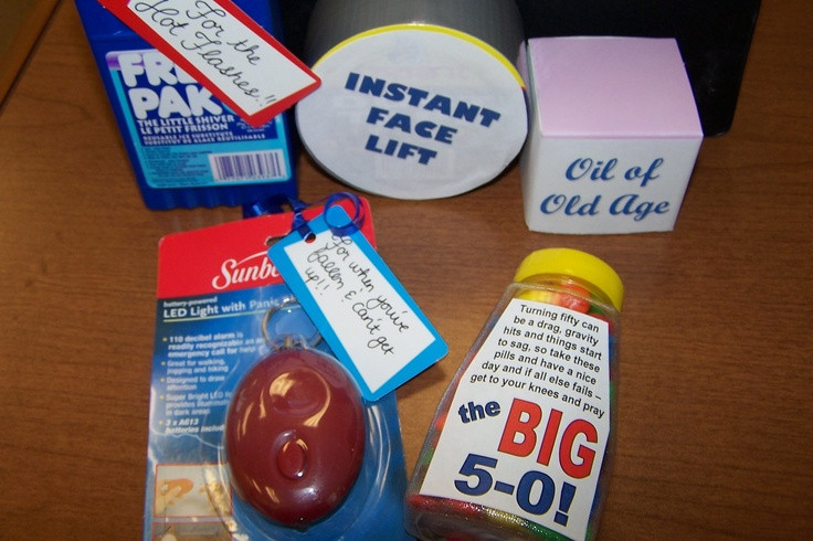Best ideas about Homemade Funny 50th Birthday Gift Ideas . Save or Pin Homemade Gag Gift For 50th Birthday 50th birthday gag Now.