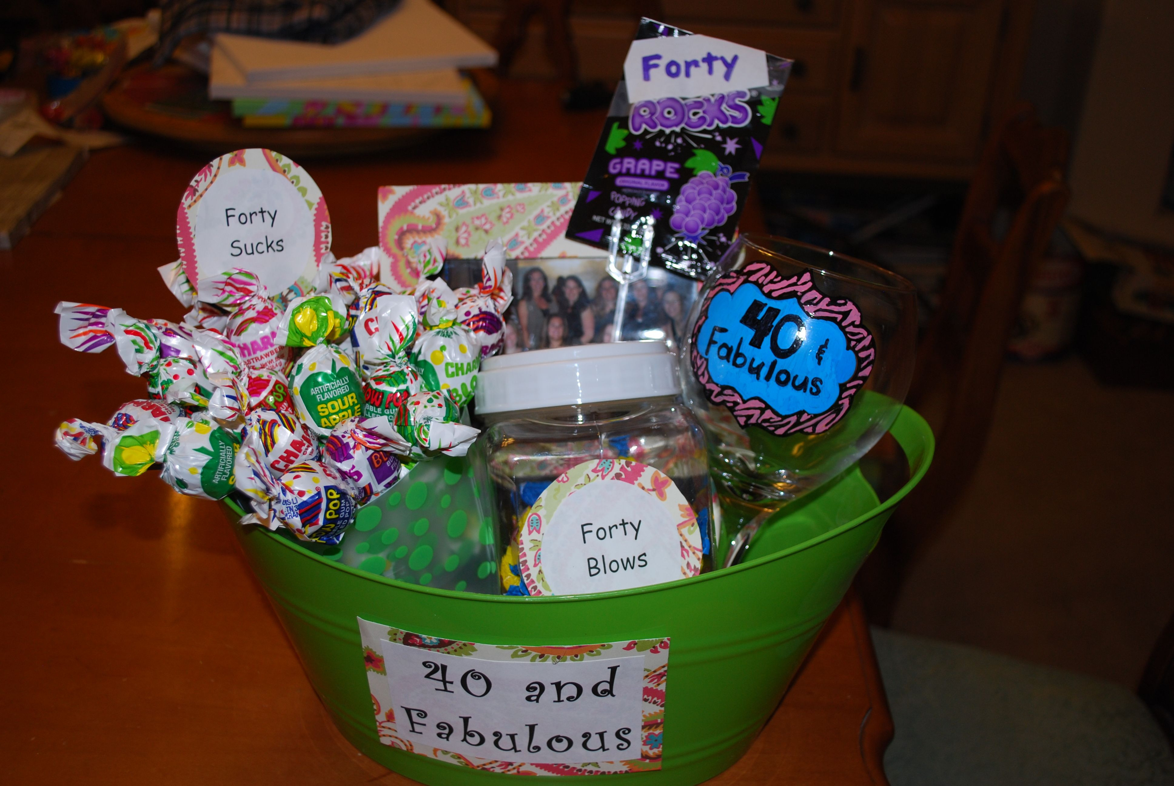Best ideas about Homemade Funny 50th Birthday Gift Ideas . Save or Pin 40th Birthday Ideas Diy 50th Birthday Gag Gift Ideas Now.