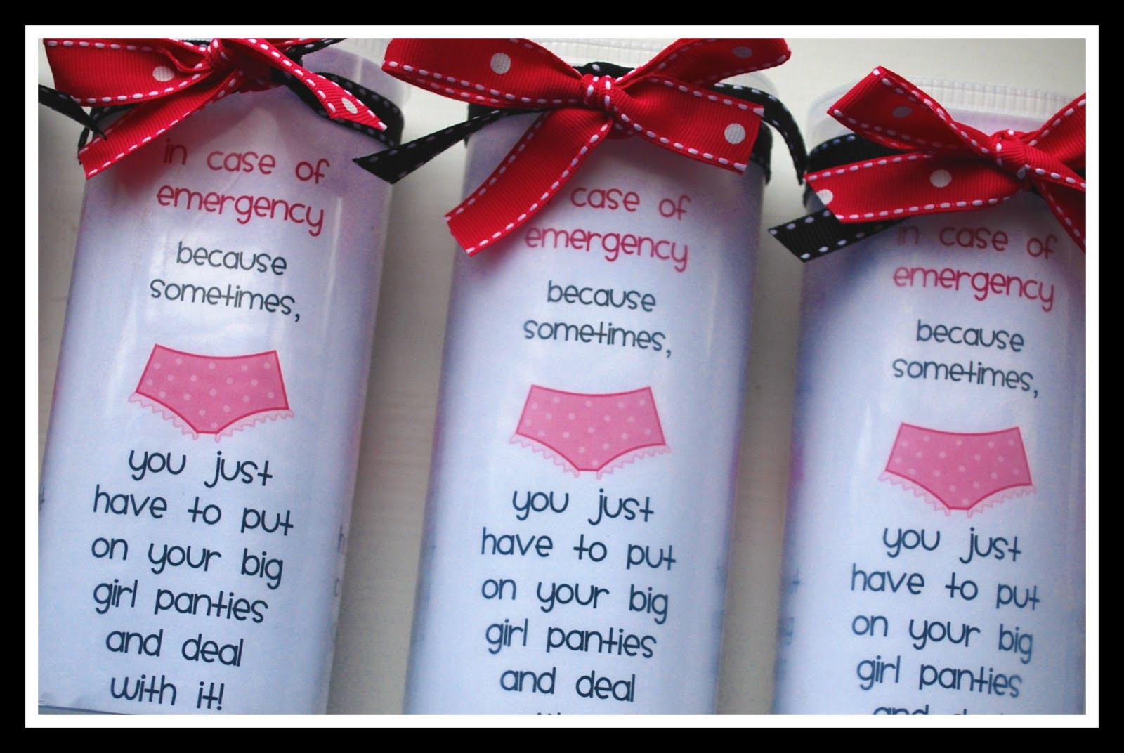 Best ideas about Homemade Funny 50th Birthday Gift Ideas . Save or Pin Sweet Blessings Big Girl Panties Now.