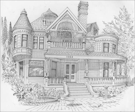 Best ideas about House Coloring Pages For Adults . Save or Pin 270 best images about Coloriages maisons on Pinterest Now.