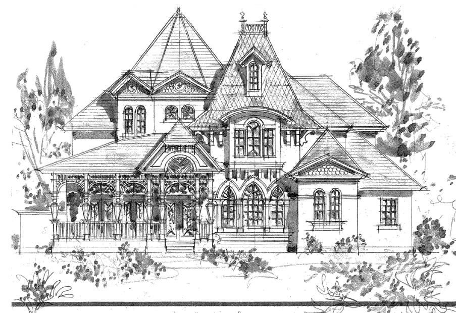 Best ideas about House Coloring Pages For Adults . Save or Pin Small luxury homes starter house plans Now.