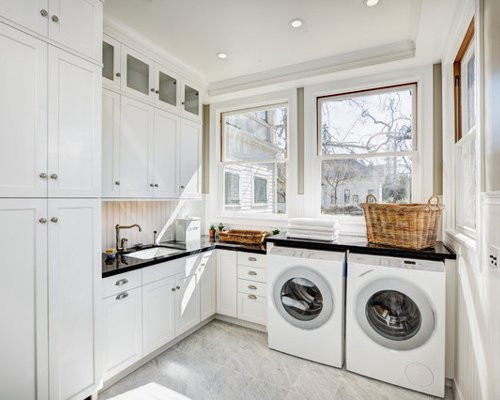 Best ideas about Houzz Laundry Room . Save or Pin Beadboard Laundry Room Now.
