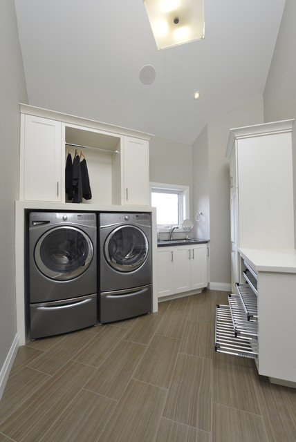 Best ideas about Houzz Laundry Room . Save or Pin Contemporary Laundry Room Now.