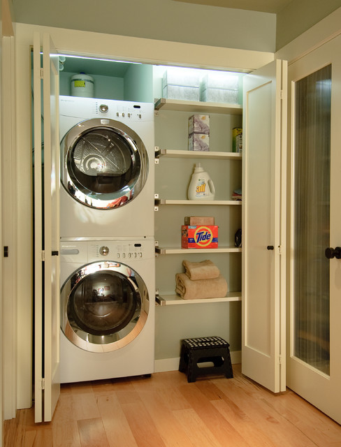 Best ideas about Houzz Laundry Room . Save or Pin Extreme Makeover Contemporary Laundry Room seattle Now.