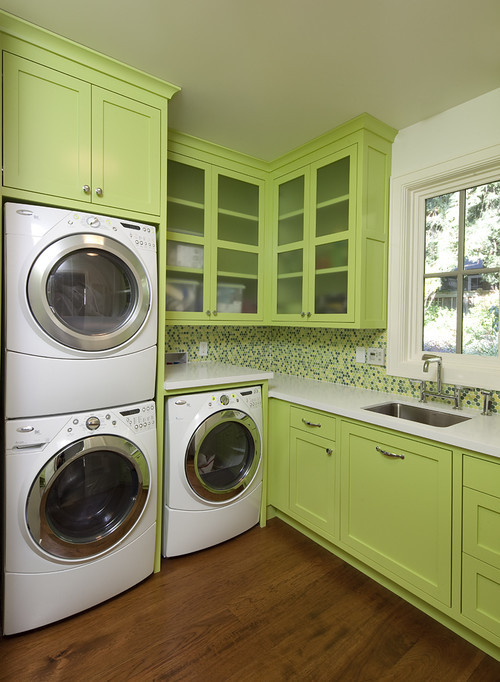 Best ideas about Houzz Laundry Room . Save or Pin The Impatient Gardener A little lipstick on a laundry pig Now.