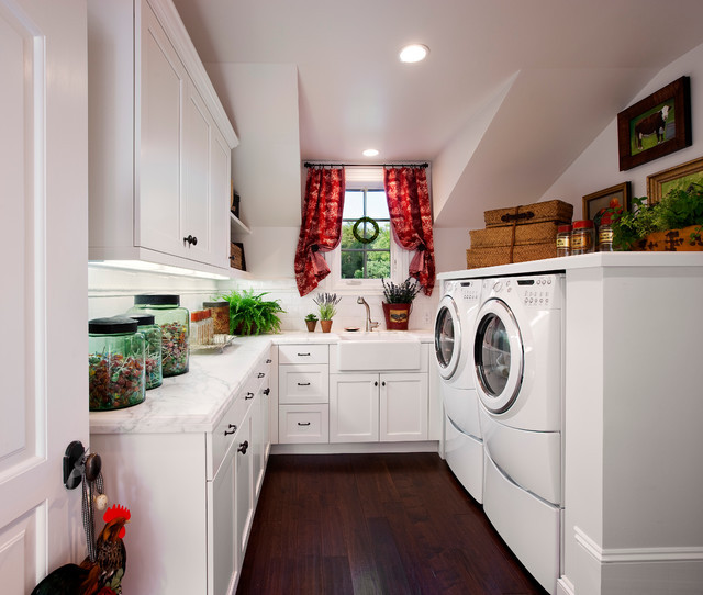 Best ideas about Houzz Laundry Room . Save or Pin American Colonial Revival Traditional Laundry Room Now.
