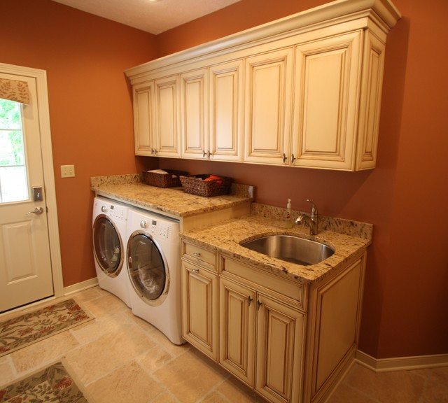 Best ideas about Houzz Laundry Room . Save or Pin Clean and Dry Traditional Laundry Room cleveland Now.
