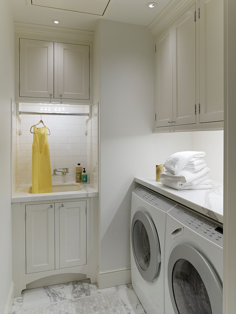 Best ideas about Houzz Laundry Room . Save or Pin Palo Alto Dutch Colonial Revival Traditional Laundry Now.