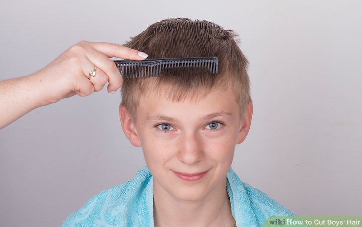 Best ideas about How To Cut Little Boys Hair . Save or Pin 3 Ways to Cut Boys Hair wikiHow Now.