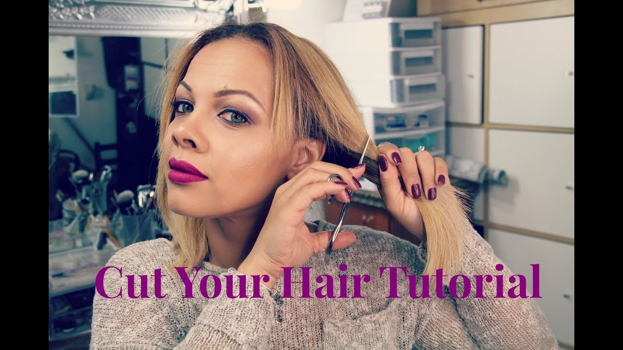 Best ideas about How To Cut Your Own Hair Short . Save or Pin DIY At Home Haircut Now.