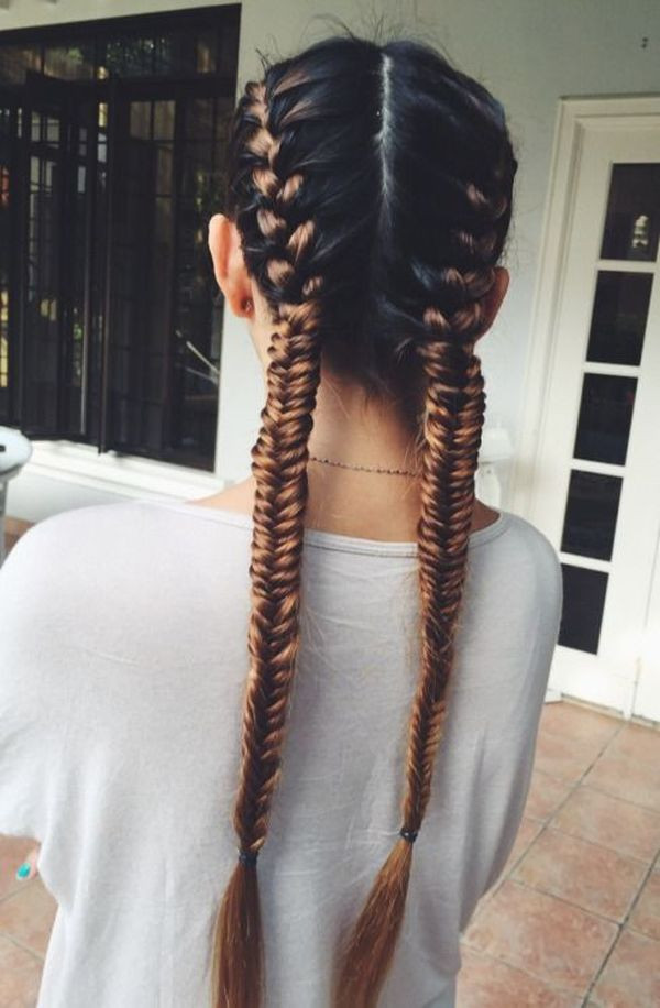 Best ideas about How To Do Hairstyles . Save or Pin Fishtail French Braid Hairtyles for Women Now.