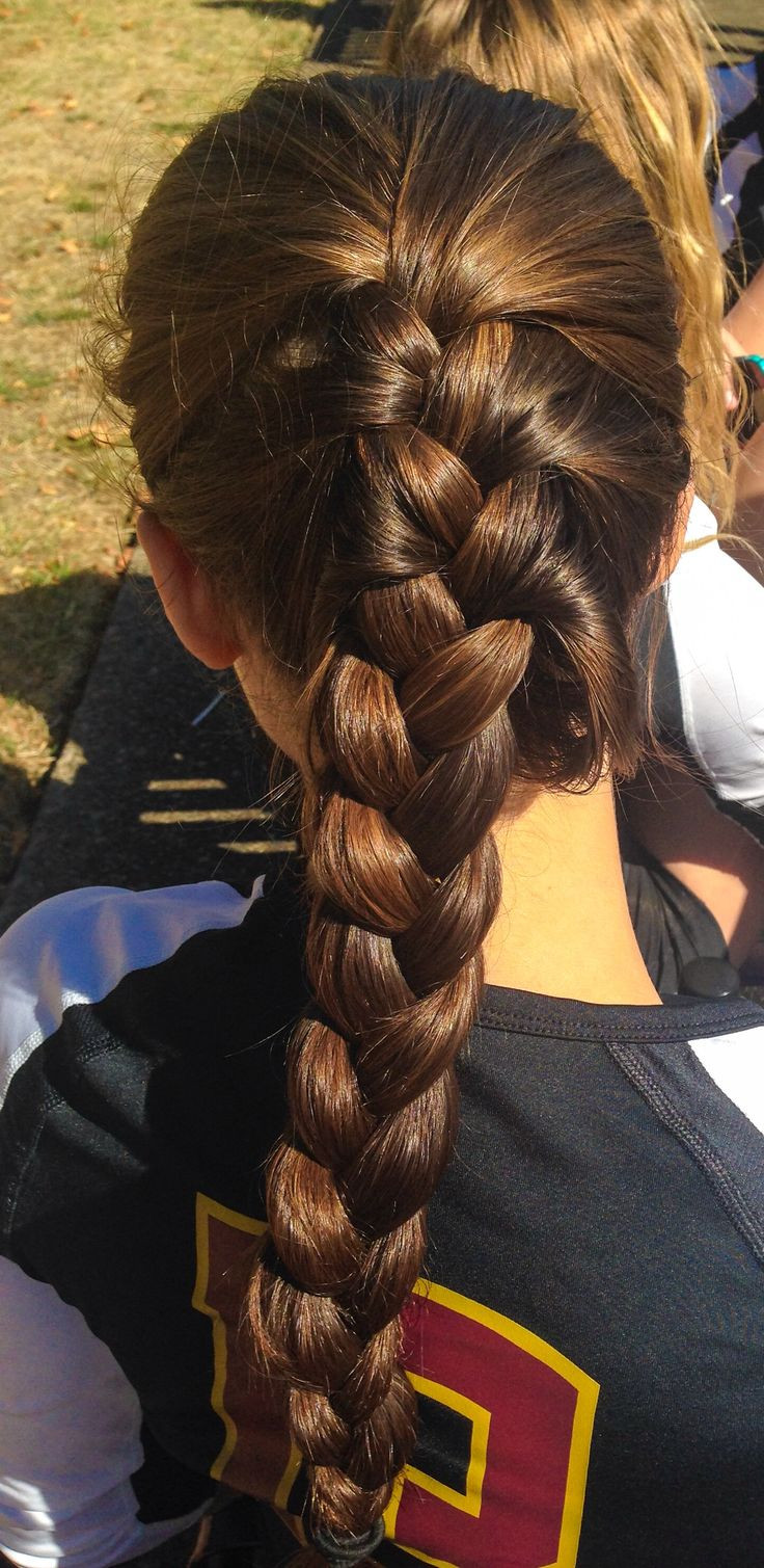 Best ideas about How To Do Hairstyles . Save or Pin 25 best ideas about Cute Volleyball Hairstyles on Now.