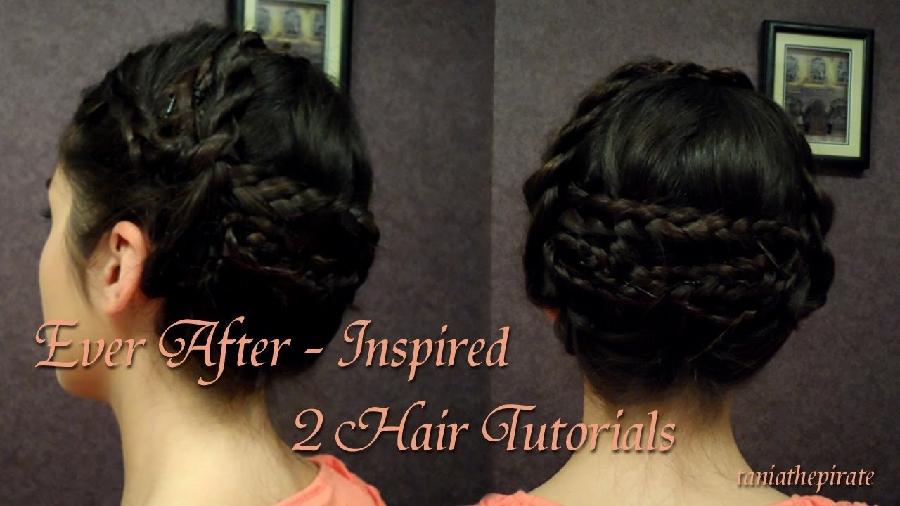 Best ideas about How To Do Hairstyles . Save or Pin Ever After Inspired 2 Hair Tutorials Now.