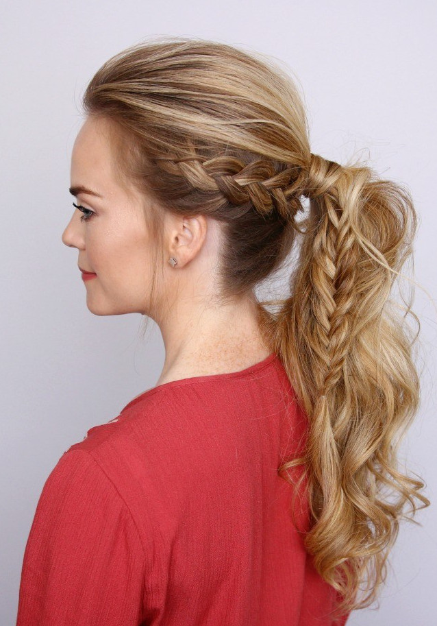 Best ideas about How To Do Hairstyles . Save or Pin How To Fishtail Braid Now.