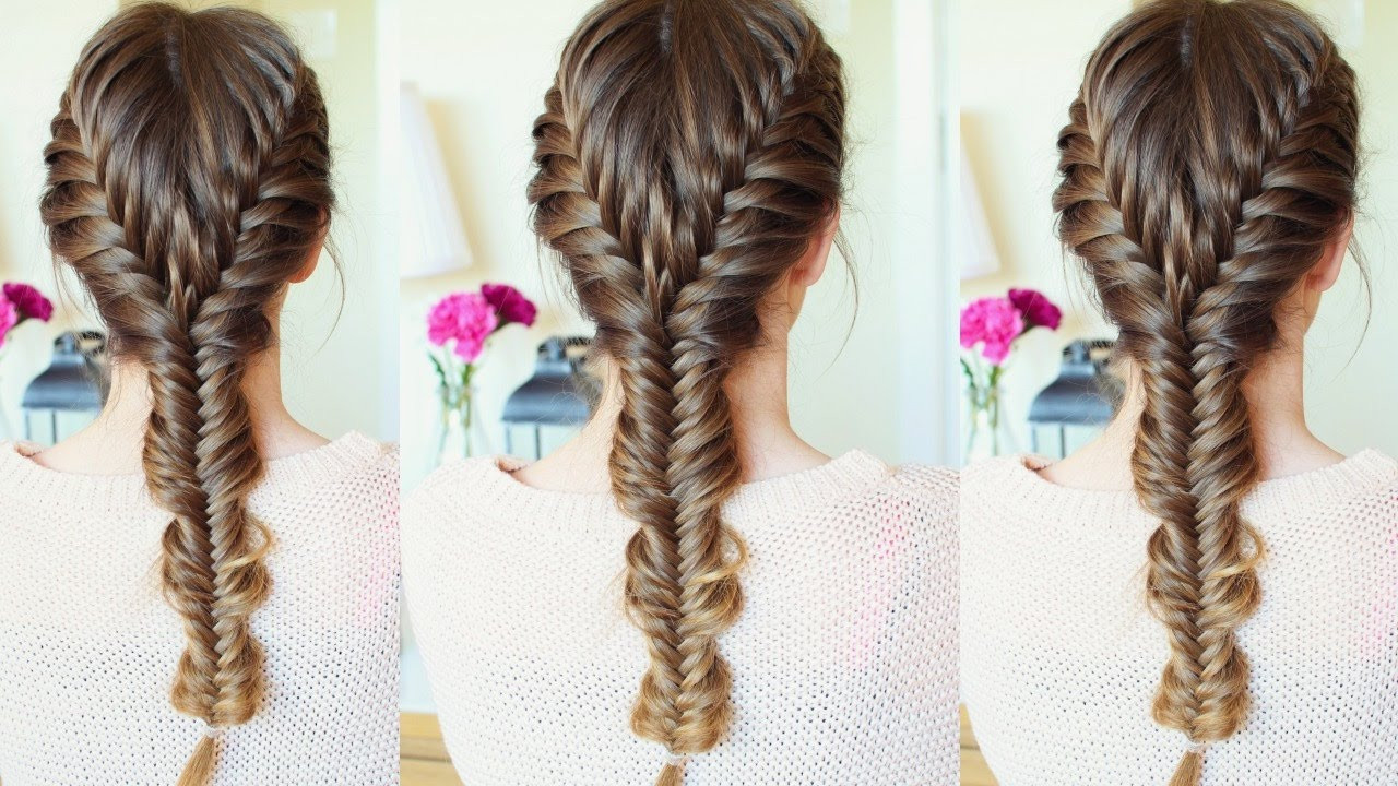 Best ideas about How To Do Hairstyles . Save or Pin Merged French Fishtail Braid Hairstyle Now.