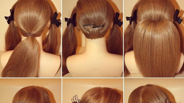 Best ideas about How To Do Hairstyles . Save or Pin Chignon for long hair Now.
