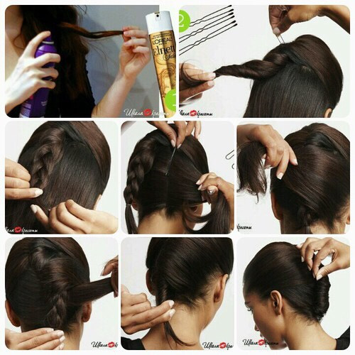 Best ideas about How To Do Hairstyles . Save or Pin The Easiest Way to Make a French Twist AllDayChic Now.
