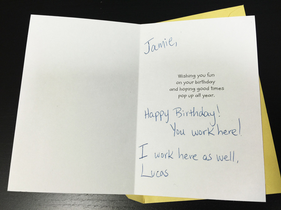 Best ideas about How To Write A Birthday Card . Save or Pin What To Write In A Birthday Card For My Co Worker Who s Now.