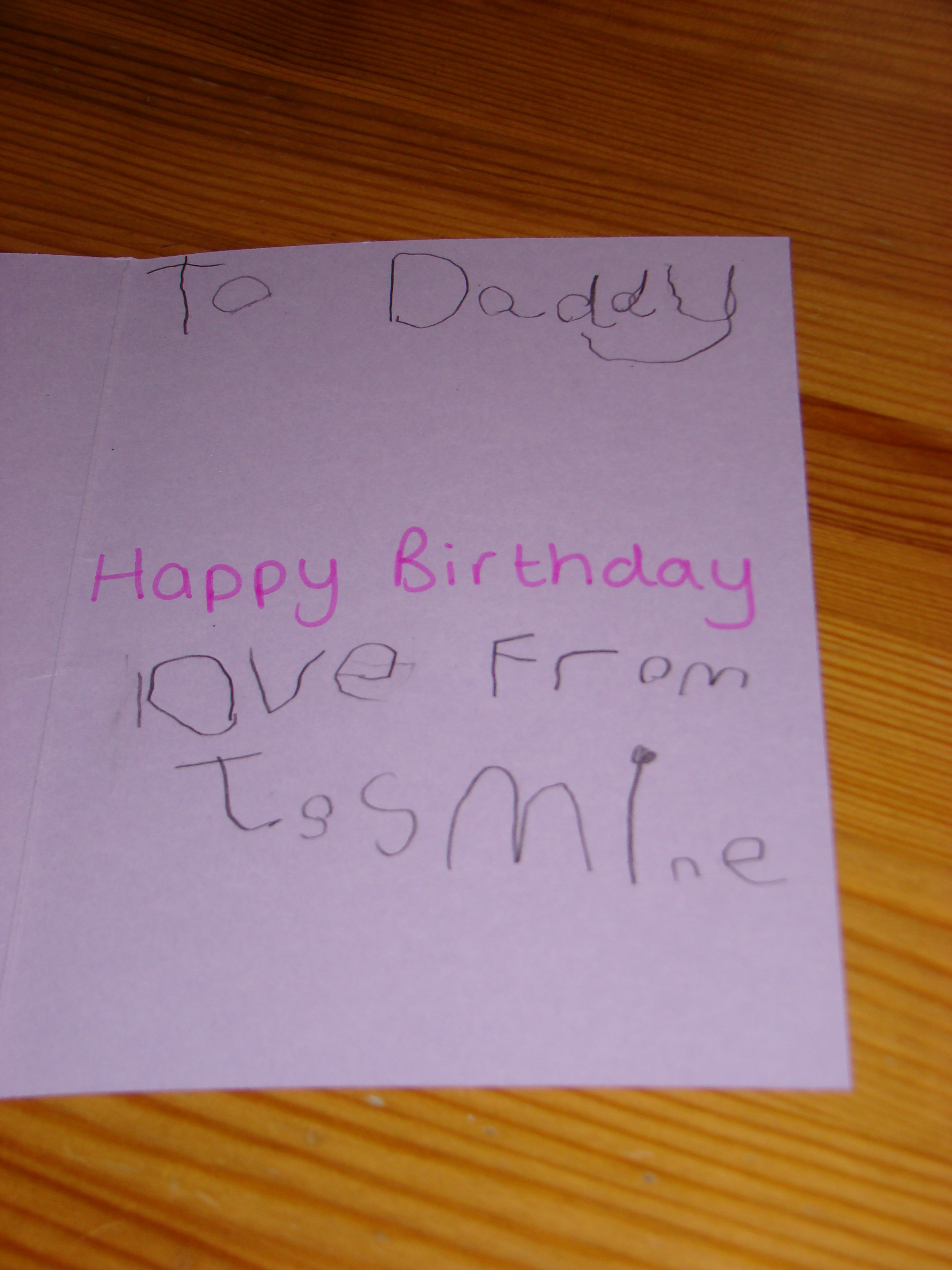 Best ideas about How To Write A Birthday Card . Save or Pin Daddy's Birthday Cards Now.