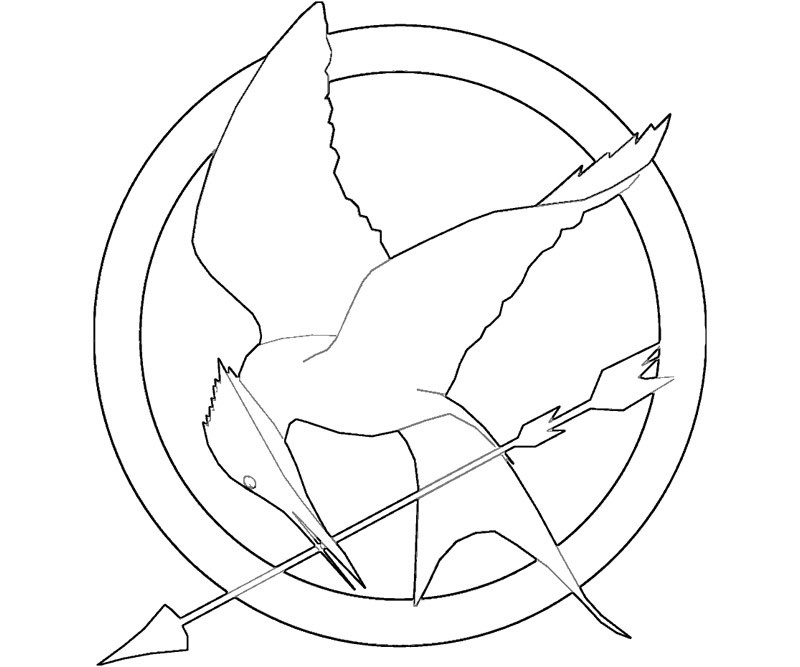 Best ideas about Hunger Games Coloring Sheets For Girls . Save or Pin Coloring Pages Game AZ Coloring Pages Now.