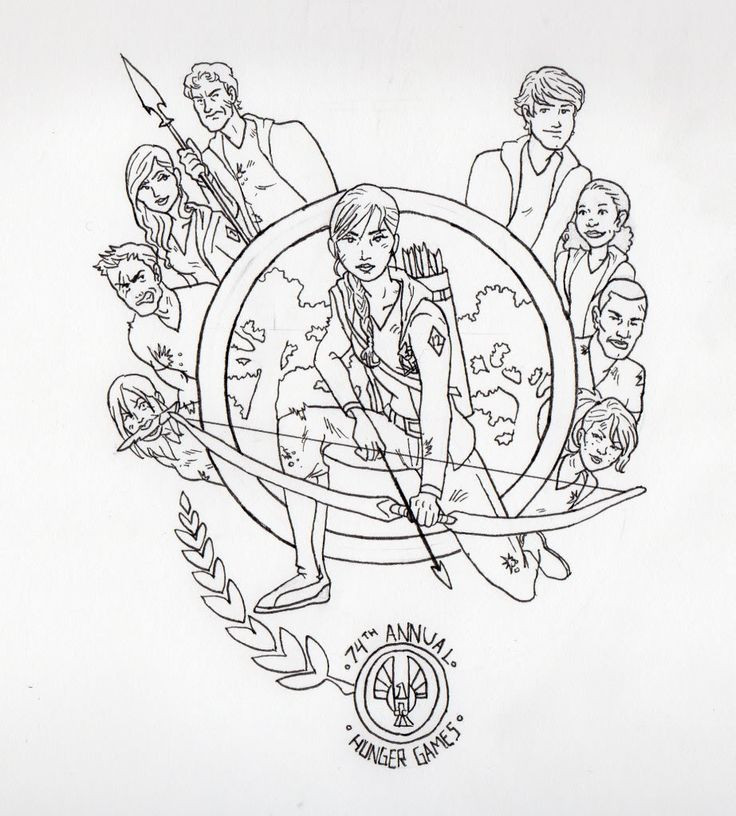Best ideas about Hunger Games Coloring Sheets For Girls . Save or Pin 1000 images about Library Activities on Pinterest Now.