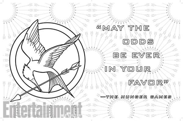 Best ideas about Hunger Games Coloring Sheets For Girls . Save or Pin See Pages from The World of the Hunger Games The ficial Now.