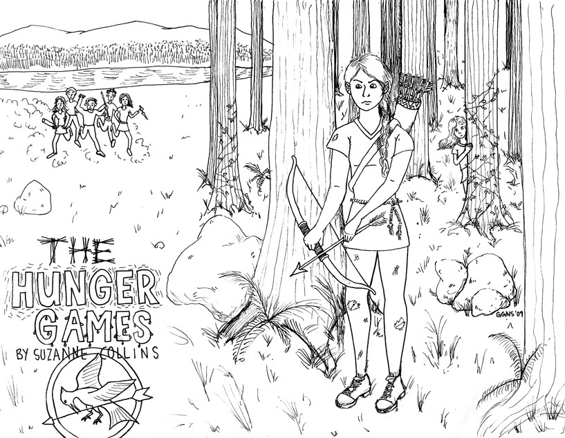 Best ideas about Hunger Games Coloring Sheets For Girls . Save or Pin Hungergames Free Coloring Pages Now.