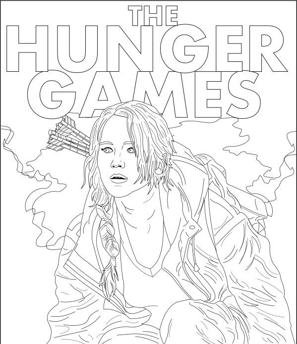 Best ideas about Hunger Games Coloring Sheets For Girls . Save or Pin Hunger Games Free Coloring Pages Now.