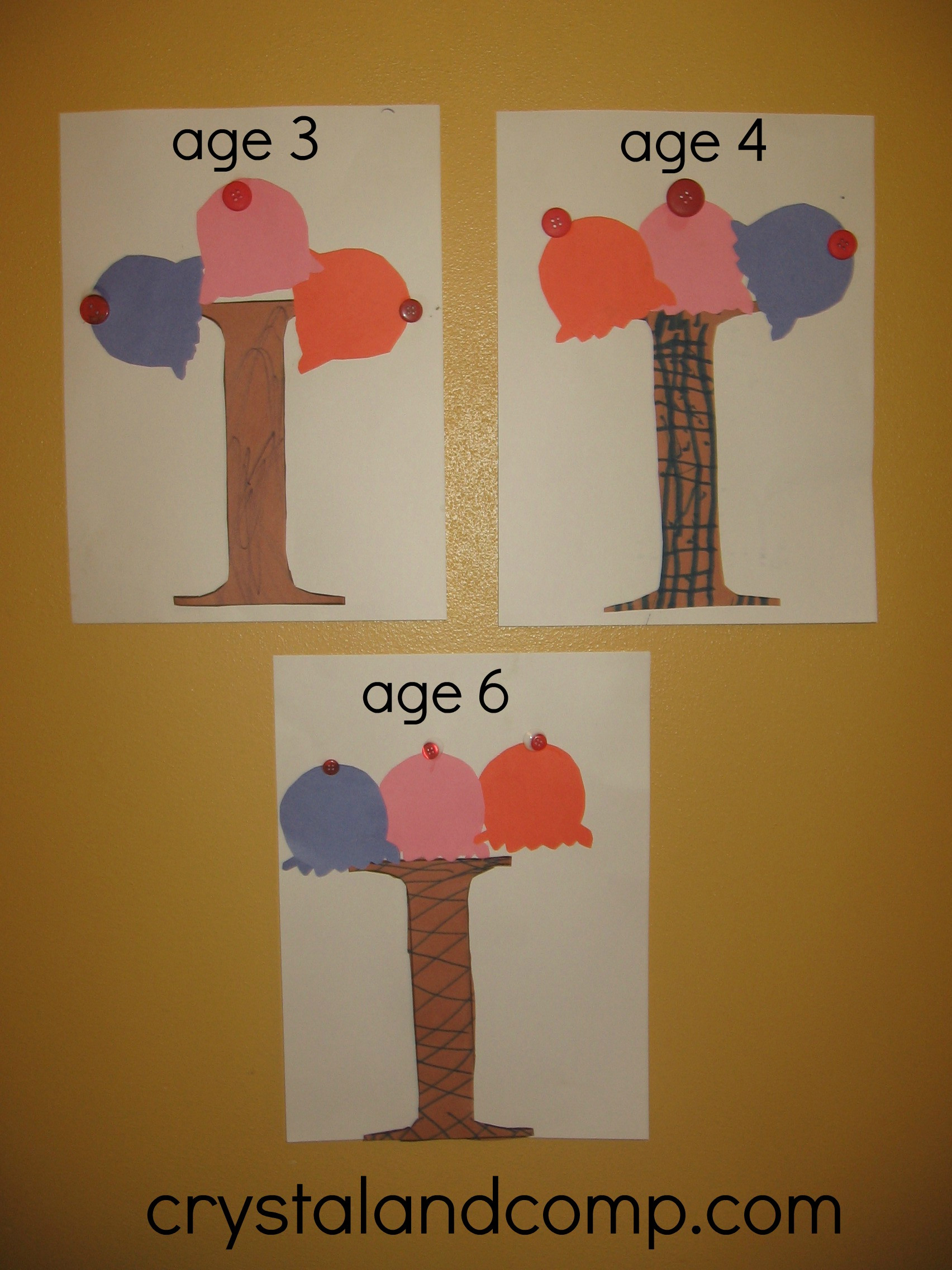 Best ideas about I Crafts For Preschoolers . Save or Pin Alphabet Activities for Preschoolers I is for Ice Cream Craft Now.